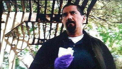 BREAKING BAD Steve Gomez' Glove used to handle Mike's Note ! With Sony COA !