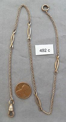 Nice Antique Gold Filled Pocket Watch Chain