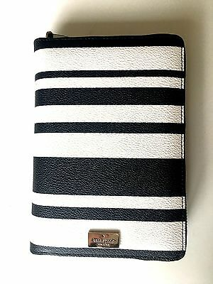 New  Kate Spade Arbour Hill Stripes Personal Organizer Planner 2017 No Insert