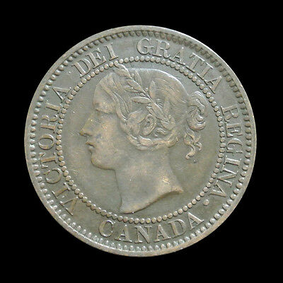1859 Canada Large Cent - Victoria - Variety - Better Grade
