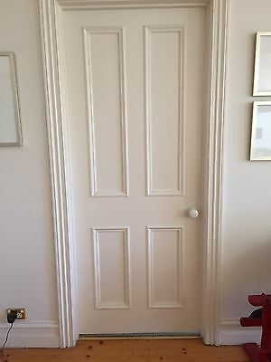 Quality Solid Timber Colonial 4 Panel Door