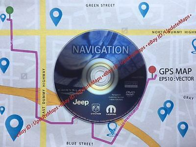 New Chrysler Dodge Jeep Plymouth LATEST Navigation Map Update DVD p/n 05064033AL