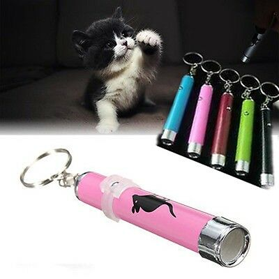 New Funny Cat Play Toy Interactive Led Training Pointer Pen Mouse Animation Hot