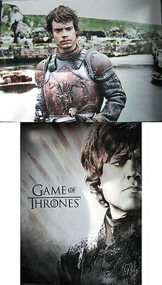 Game Of Thrones Tyrion Lannister Theon Greyjoy 12 X 16 Two-Sided Poster Dinklage