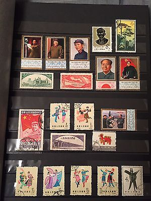 Mixed Lot 275 People's Republic Of China Stamps Used-Unused Some Rare 1950-1984