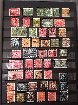 Mixed Lot 539 Old U.s. Stamps 1870-1970 Postage-Airmail-B.o.b.-Postage Due-Used