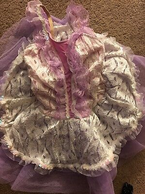 Lilac Girls Dance Outfit. Fancy Tutu. 7/8. Recitals, Dress Up, Rehearsal. Nice!