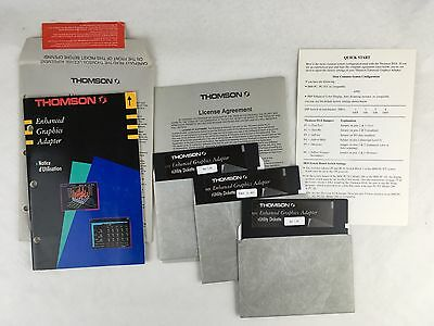 Lot licences Thomson Enhanced graphics adapter