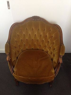 Vintage Early Century Baroque Arm Chair - Genuine Antique