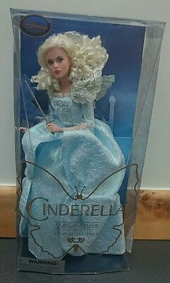 Disney Store Live Action Cinderella 'Fairy Godmother' Doll.