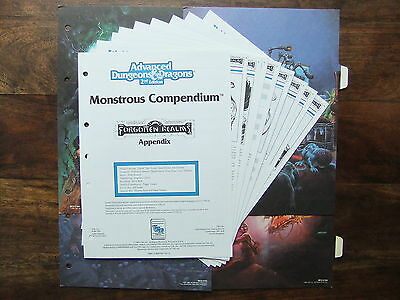 MONSTROUS COMPENDIUM: FORGOTTEN REALMS APPENDIX (MC3),AD&D 2e,DUNGEONS & DRAGONS
