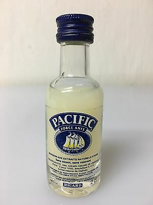 Mignon Miniature Ricard Pacific Force Anis 2cl A.