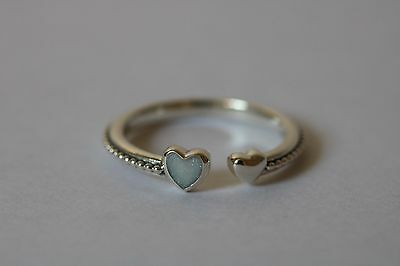 Pandora Hearts of Love Ring.Sterling Silver S925 ALE