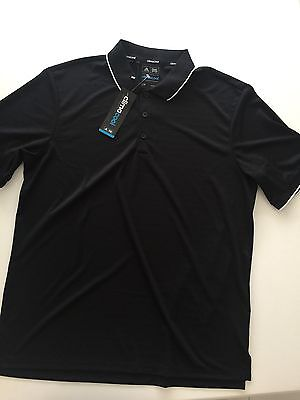 Adidas Men's Black Golf Top Size Large *New With Tag