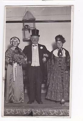 Hull Press Unknown Amateur Dramatics Group Real Photo Postcard 1930
