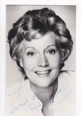 Signed Rona Anderson Actress Wife Of Gordon Jackson Real Photograph