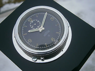 Amazing and very rare WWII 8 day ANGELUS military deck / dashboard watch ! GWO