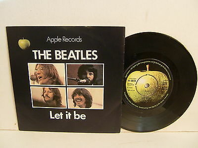 "The Beatles - Let It Be / You Know My Name R 5833  UK 7"" Apple Pic Sleeve NM"