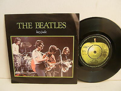 "The Beatles - Hey Jude / Revolution  R 5722  UK 7""  Apple Pic Sleeve NM"
