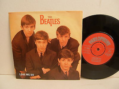 "The Beatles - Love Me Do / P.S. I Love You  R 4949  Parlophone UK 7"" PicSlv NM"