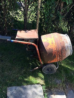 Petrol Cement Mixer Reliable Robin Engine