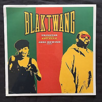 "Blak Twang Trixstar 12"" Single w. Banksy Art Sleeve (Sealed, 2002, Dismaland)"