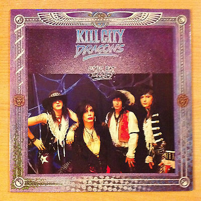 "KILL CITY DRAGONS  "" Let'em Eat Cake "" - Vinyl Ep 12"" -  WBR 001  -  1990 UK"