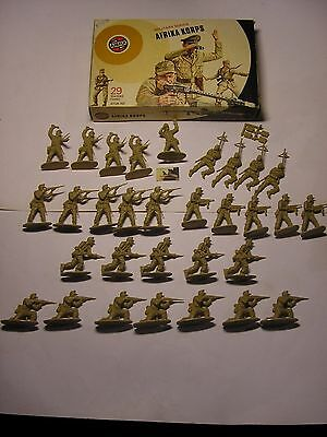 Soldatini Toy Soldiers Airfix 1973 Afrika Korps plastica scala 1:32 #M
