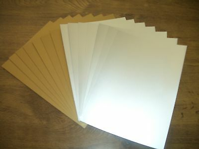 A5 Gold and Silver Pearlescent Paper for Cards Crafts Super Quality