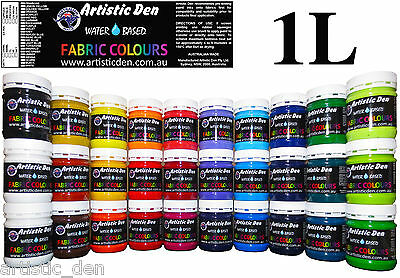 Supercover Professional Fabric Paint Screen Ink   1Litre/kg