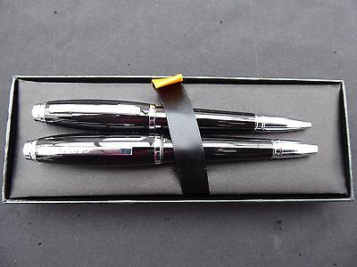 CROSS  Fountain and Ball Point Pen Set. Hargreaves Lansdown (New)
