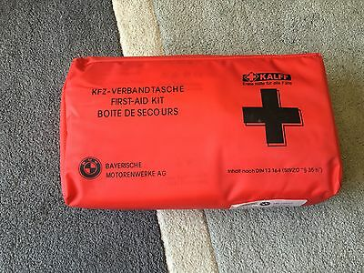 Rare Bmw 1St First Aid Medical Emergency Kit * Red Case 1 3 Series M3 X5 X3 E46