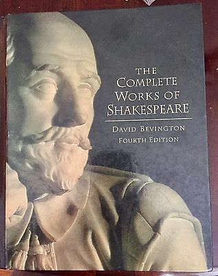 The Complete Works of Shakespeare by William Shakespeare 4th Edition