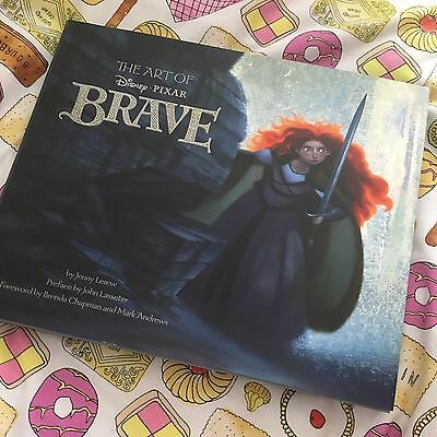 The Art of Brave Book, Disney (Beautiful Condition)