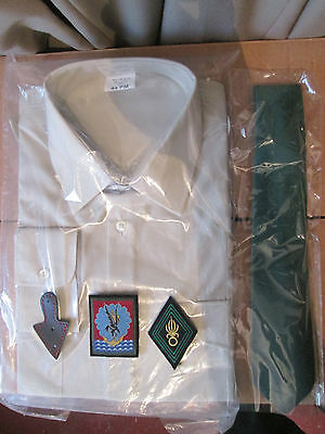French Foreign Etrangere-2 REP-set shirt traditional (ironed - folds) all size