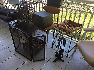 Fireplace Screen, Grate And Tools In Sydney Nsw Australia