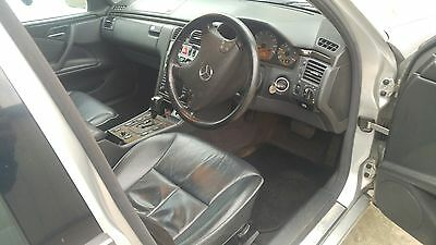 mercedes w210 s210 7 seat full black leather interior