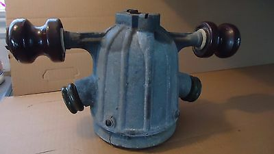 antique Industrial  Light  fixture steampunk   Porcelain insulators