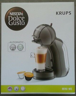 Krups Cafetière Mini Me Nescafe Dolce Gusto Noir anthracite NEUF