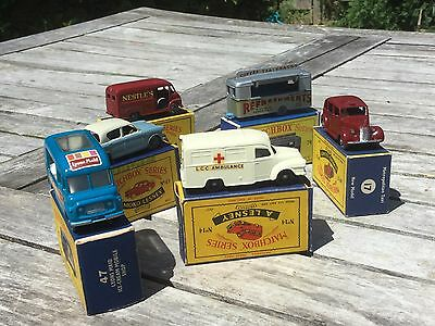 Matchbox Lesney vintage small collection.