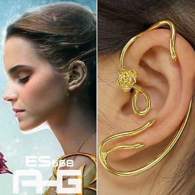 Die Schöne Und Das Biest Beauty and the Beast Belle Earrings Ohrring Gold Cos
