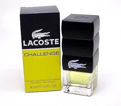 LACOSTE CHALLENGE POUR HOMME EAU DE TOILETTE SPRAY MEN 30 ml * Neu / in Folie *