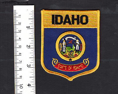 (State Seal) Idaho Embroidered Patch...Travel Souvenir.....#742P