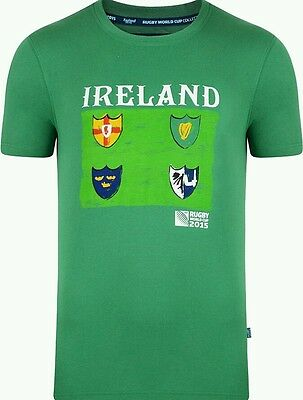 Rugby World Cup 2015 - Ireland tee shirt - 2XL - Official Product