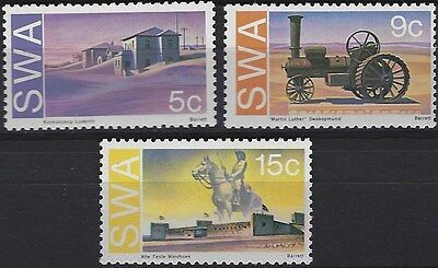 South West Africa 1975 Historic Monuments Mnh Complete Set 2121