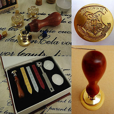 Harry Potter Hogwarts Wachs Siegel Stempel Siegellack Wax Seal Stamp Set