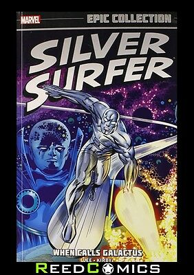 SILVER SURFER EPIC COLLECTION WHEN CALLS GALACTUS GRAPHIC NOVEL New Paperback