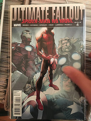 ULTIMATE FALLOUT #4 1st Print 1ST APP MILES MORALES Spider-Man Bendis