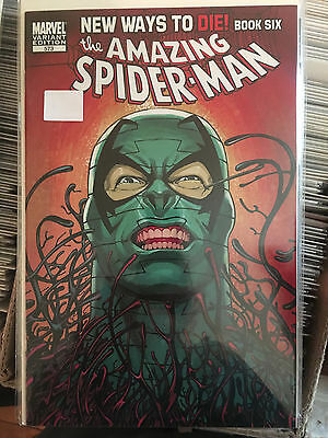AMAZING SPIDER-Man #673 NM- 1st Print KEVIN MAGUIRE VARIANT New Ways To Die