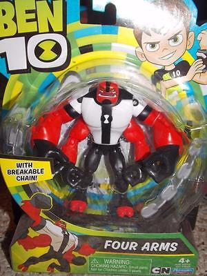 """2017 Cartoon Network Ben 10 4"""" Figure 4Arms Four Arms New"""
